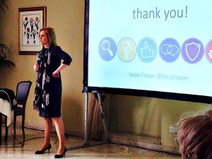 Josie Fraser Speaking