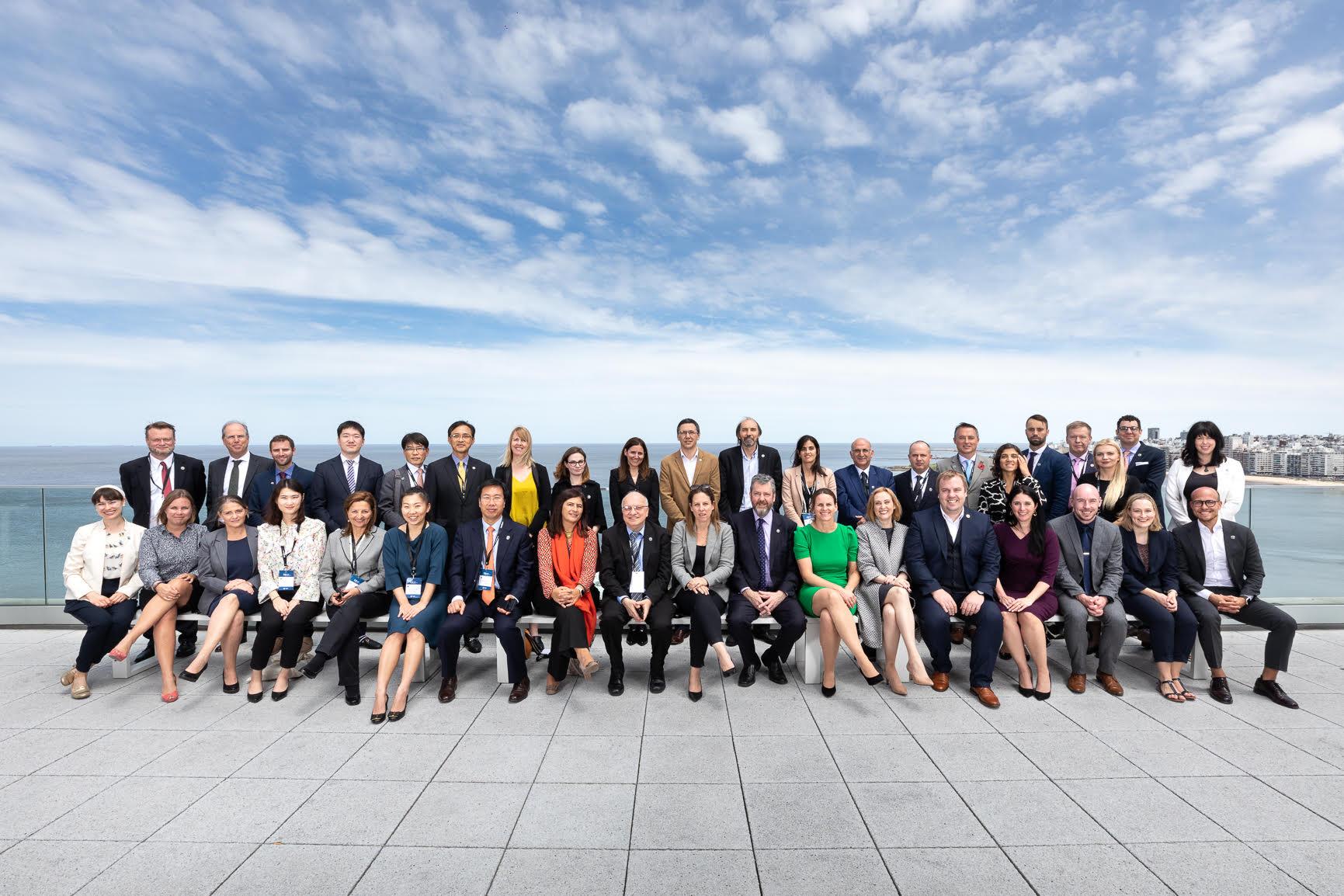 International Delegates from the Digital Nations Ministerial Summit, Uruguay 2019